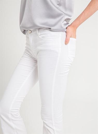 Love'n Fashion Paris Pantolon Beyaz